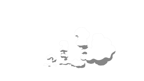 [HD]20 SMOKE ELEMENTS PACK 2D Cartoon FX