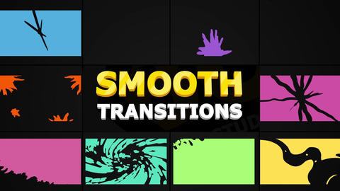 Smooth Transitions Pack Motion Graphics Template