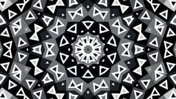 cg loop animation by geometric design pattern. for background, composing, vj, et Footage
