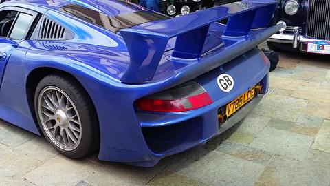 Porsche 911 GT1 Start Engine Footage