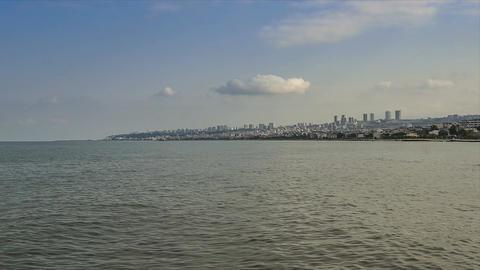 4K UHD Time lapse of Atakum seaside Samsun, Turkey Footage