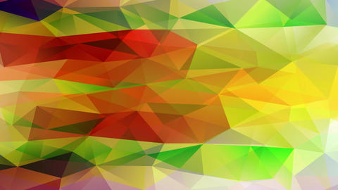 wow effect abstraction design crafted with mini triangular pieces joined together forming pyramids Animation