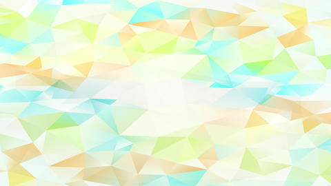 conceptual set up creating a perfect template of mini triangles with bright and shadowy tones giving Animation