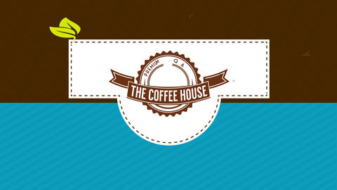 coffee product package decorated with different concept divisions and in concept art in the center Animation