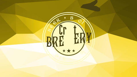 round concept science for an worldwide brew manufacturer handling evocative celtic like offset over Animation