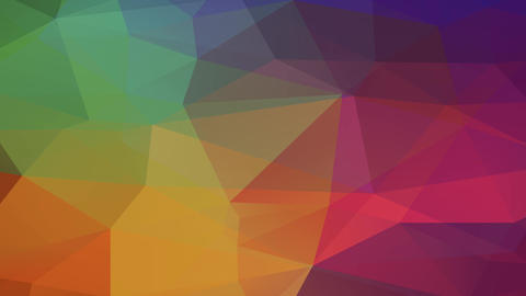 abstraction hexagon and polygon formed 3d understanding figure resembling a piece of colourful Animation