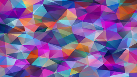 stunning conceptual mosaic with geometrical 3d hexagons and pyramid forms created with mini Animation