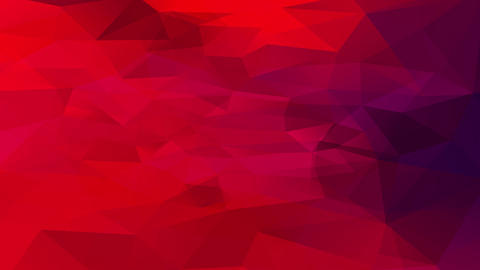 abstract plan with bloody red tones created with geometrical triangles located indistinctly in the Animation