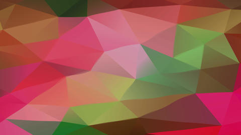 geometric concept art assembled with triangles of various sizes and color tones giving it a 3d Animation