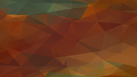 abstract polychromatic design made with triangles and polygons moving like projected images above a Animation