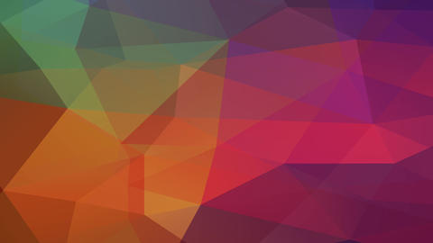 abstraction hexagon and polygon formed 3d understanding figure resembling a piece of multicolored Animation