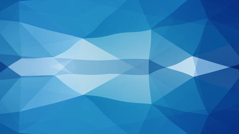 elegant conceptual idea for a layout combining blue and white geometric forms divided in equal parts Animation