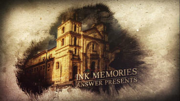 Ink Memories After Effects Project