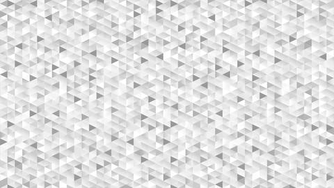 Grey glitter triangles mosaic technical video animation Animation