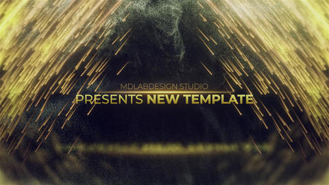 Golden Premium Titles After Effects Template