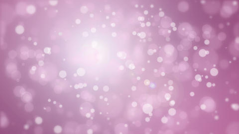 Animated festive purple pink particle background Animation