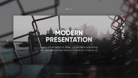 Modern Presentation - Smooth Corporate After Effects Template