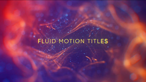 Fluid Motion Titles After Effectsテンプレート