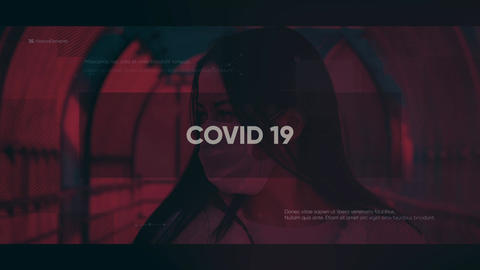 COVID-19 After Effects Template