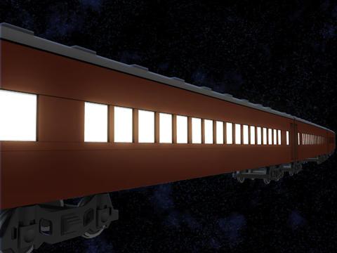銀河鉄道 SL 3DCG 1 CG動画