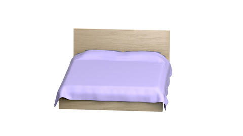 Comfort bed Animation