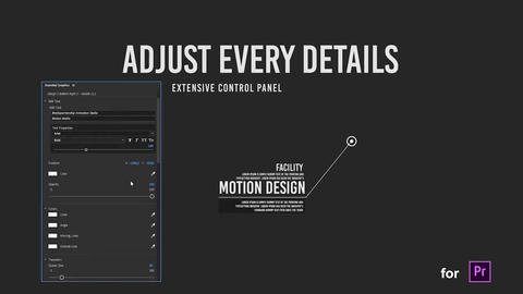 Dynamic Call Outs Titles // MOGRT // Premiere Pro Motion Graphics Template