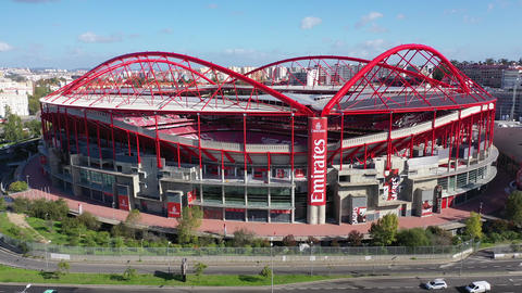 Most famous soccer stadium in Lisbon - Estadio da Luz of Benfica - CITY OF Live Action