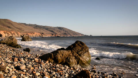 Central California Coast View Footage