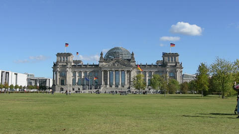 The Reichstag building Footage