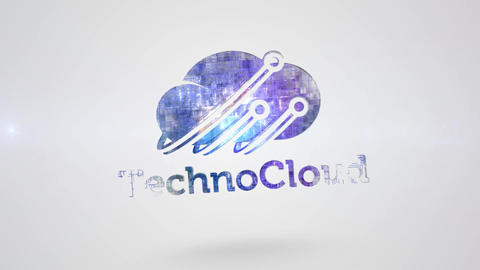 Clean Technology Logo After Effects Template