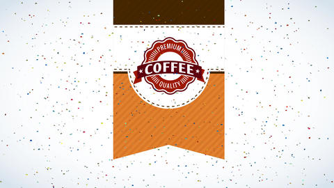 caffeine package detailed science combining trial layers with opposite designs and a curly round Animation