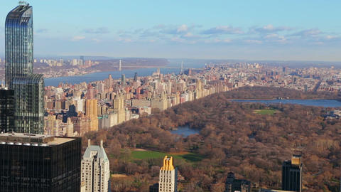 New York City. Late Autumn in Central Park Footage