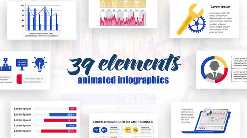 Infographics vol.23 After Effects Template
