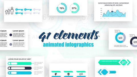 Infographics vol.20 After Effects Template