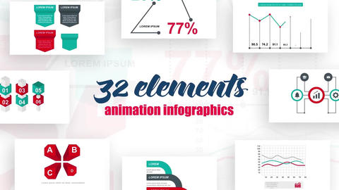 Infographics vol.15 After Effects Template