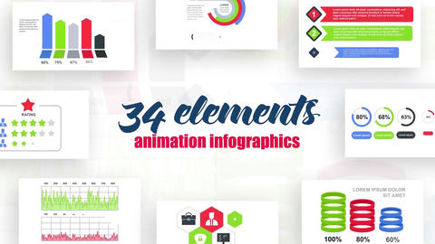 Infographics vol.13 After Effects Template