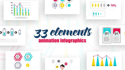 Infographics vol.12 After Effects Template