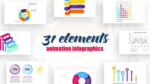 Infographics vol.10 After Effects Template