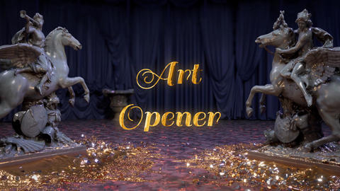 Art Opener After Effects Template