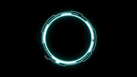 Sci-Fi Circle1 CG動画