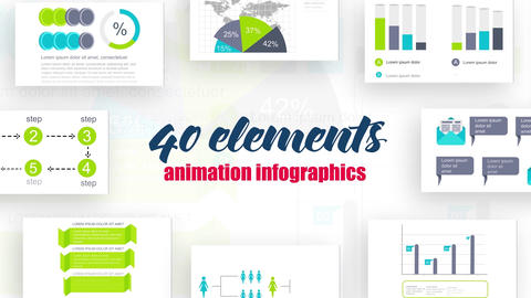 Infographics vol.19 After Effects Template
