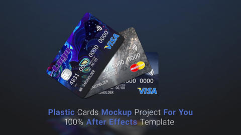 Plastic Card Promo After Effects Template