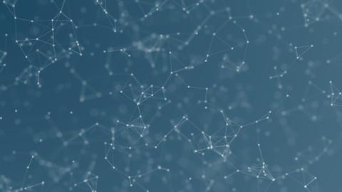 Animated blue plexus background Animation