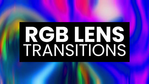 RGB Lens Transitions Presets Premiere Proエフェクトプリセット