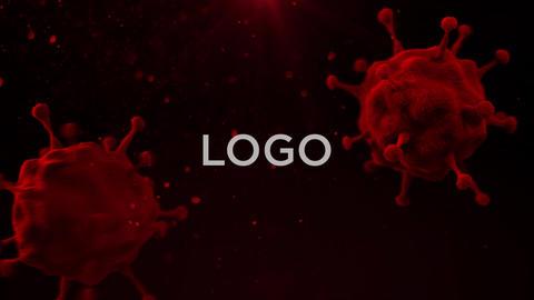 Coronavirus Logo AE 模板