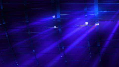 Elegant Grid Light Rays Blue_01