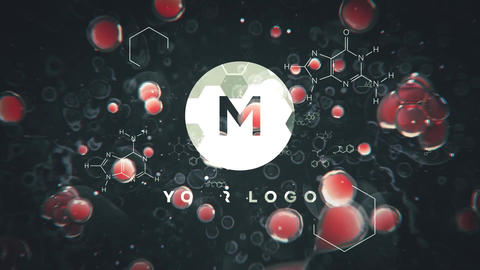 Cell Division Logo Reveal After Effects Template