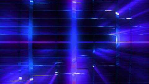 Elegant Grid Light Rays Blue_01 0
