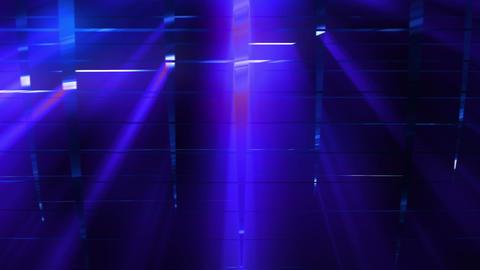 Elegant Grid Light Rays Blue_01 2