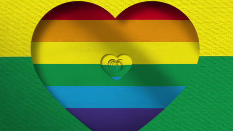 Pride LGTB Love 4K Loop Animation
